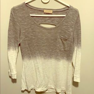 Size XS 3/4 Sleeve Anthro Top